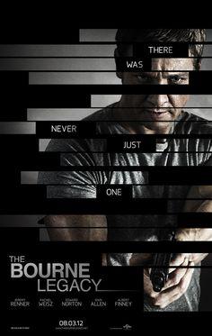 Sem Matt Damon, novo filme da franquia Bourne ganha poster com Jeremy Renner