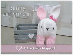 crochet tutorial for bunny ♥