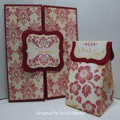 Scor-pal мк  открытка и коробочка