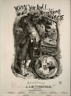 Irish Vintage Sheet Music Covers from Levy Sheet Music 1866