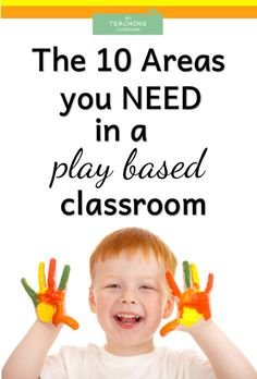 The 10 Areas of a PLAY BASED CLASSROOM