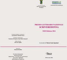 Premio SCRIVEREDONNA XXII edizione 2014: la premiazione