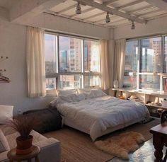 Room Ideas Bedroom, Bedroom Decor, Aesthetic Room Decor, Dream Apartment, Cozy Room, Dream Rooms, House Rooms, Julia's House, Tiny House