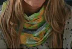 Lykketing - scarf made of vintage fabric from the Fabric, Vintage, Fashion, Tejido, Moda, Tela, Fashion Styles, Cloths, Fabrics