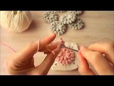 Popcorn Örgu Motifi Yapımı - YouTube