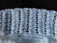 Lã super bebê Agulha de crochê 1,75mm para a pala e 2,5mm para o corpinho sapatinho: ...