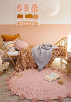 boho bedroom kids Honestly WTF A daily dose of fashion discoveries and inspirations, contributed by a stylist and a designer who both see the world through rose-colored shades. Boho Bedroom Decor, Boho Room, Pastel Bedroom, Little Girl Rooms, My New Room, Girls Bedroom, Bedrooms, Kids Room, 10 Days