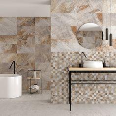 Bauhaus, Interior Exterior, Vanity, Mirror, Bathroom, Natural, Furniture, Home Decor, Round Bathroom Mirror