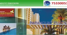#ParamountEmotions offer 2 & 3 BHK apartments at a best price list. #ParamountGroup #ResidentialProjects. Get info Call us 7533005334. http://paramount-emotion.blogspot.in/2017/03/paramount-emotions-price-list.html