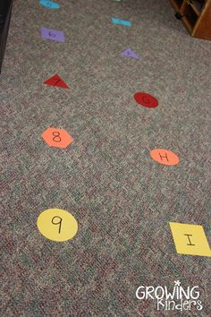 Lining up Spots   Growing Kinders