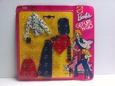 Vintage Barbie Doll Kelley and PJ Get-Ups 'n Go United Airlines NRFB MIB MIP MOC #Dolls