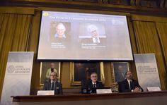 VIDÉO - Oliver Hart, 68 ans, et Bengt Holmström, 67 ans, deux théoriciens des relations contractuelles dans la société.