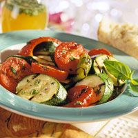 Grilled Herbed Vegetables