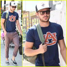 War Eagle... Zac Efron loves Auburn! :)