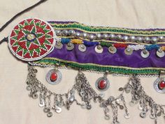 Vintage Tribal Kuchi Belt  Belly Dance by 7SISTERStradingco, $40.50