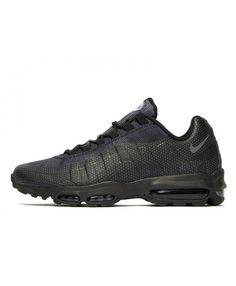 sports shoes b1a15 b941b Men s Nike Air Max 95 Ultra Essential Black Sneakers 012316