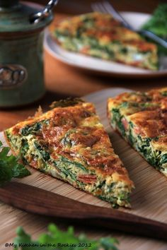 KALE FRITTATA with Garlic and Pecorino Romano.....A Healthy Breakfast Casserole Ingredients 8 large organic eggs 3 tablespoons freshly grated Pecorino Romano or Parmesan cheese, divided ¼ teaspoon coarse kosher salt ¼ teaspoon freshly ground black pepper 3 tablespoons extra-virgin olive oil 1 medium onion, thinly sliced 1 bunch organic Kale or Red chard (about 10 ounces), stems and center ribs cut away, leaves coarsely chopped 2 ounces pepperoni or thinly sliced Italian spicy salami, cut into ½-inch pieces (about ⅔ cup) 1 garlic clove, minced