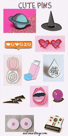 Andrea Arteaga   ♡♡♡: New Trend pins y parches