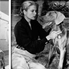 Grace Kelly and weim.