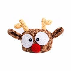 Cute Elk Antler Knit Beanie, $1.99 using code : bdvSY4