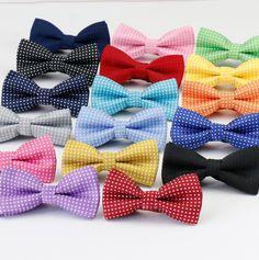 Купить товарДети мода формальные хлопка галстук бабочка малыш классическая точка Bowties красочные бабочки свадебные ну вечеринку Pet боути смокинг связей в категории Галстуки и платкина AliExpress.                    Для мужчин и женщин!!!                                        Описание: