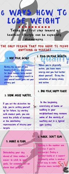 6 Ways How to Lose Weight