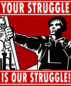 United In Struggle by Party9999999.deviantart.com on @DeviantArt