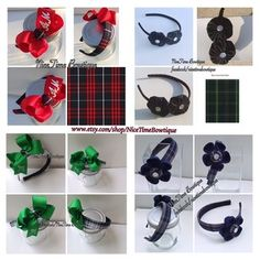 Place your back to school orders today. Fast shipping! Made to match school uniform plaid headbands and bows www.etsy.com/shop/NiceTimeBowtique School Uniform Accessories, Hair Accessories, Kids Uniforms, Headbands, Back To School, Plaid, Bows, Shop, Etsy