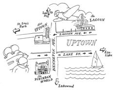hand drawn map - Google Search