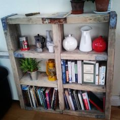 Scaffold Board Bookshelf