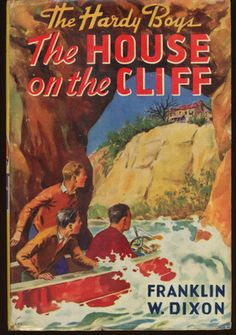 The Hardy Boys THE HOUSE ON THE CLIFF w Dust Jacket 1944A-25 Intro 2nd cover art on eBay!