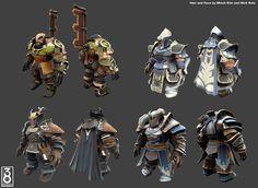 Armors from 38 Studios Project Copernicus by bahlswede - CGHUB via PinCG.com