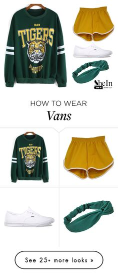 """""""Work Out clothes"""" by sweetcandy8409 on Polyvore featuring Vans"""
