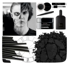 """BOLD HALLOWEEN MAKEUP"" by melanielay ❤ liked on Polyvore featuring beauty, La Maison, Urban Decay, Tom Ford, Mary Kay and halloweenmakeup"