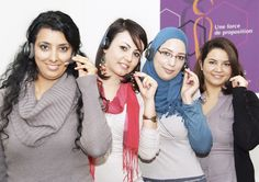 Des teleactrices dynamiques au centre d'appel Maxicontact Tunisie : La #RelationClient au coeur des marques !