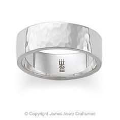 i really like this hammered look from james avery - James Avery Wedding Rings