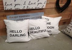 Love these pillows by Sugarboo Designs! #hpmkt