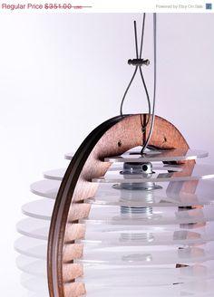 Small Pendant Lighting Pendant Lamp Modern Chandelier Light Fixture Wood and Perspex Pendant Light Home Decor Large Pendant Lighting, Modern Chandelier, Chandelier Lighting, Pendant Lamp, Iron Chandeliers, Bedroom Light Fixtures, Bedroom Lamps, Bedroom Lighting, Laser Cut Lamps