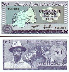 Rwanda Franc | Currency Gallery: Rwanda