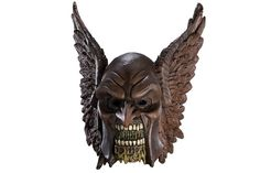 I'm not sure why a zombie Hawkman mask is a thing, but it looks awesome and I want it