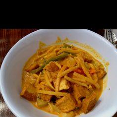 Best tofu curry, thanks Le Thai!