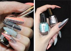 BunnyTailNails: This girl loves her glitter in all shapes and forms