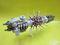 nsm-moc008 : Qsilonn Empire Hysterikka-class dreadnought. by oursblancgroschat, via Flickr