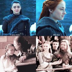 69 trendy games of thrones sansa arya Sansa Stark, Eddard Stark, Game Of Thrones Sansa, Game Of Thrones Meme, Movies And Series, Movies And Tv Shows, Tv Series, Winter Is Here, Winter Is Coming