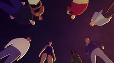 'Coda', a Beautiful Short Animated Film in which death pursues a drunken man's evasive soul - see video on blog