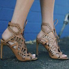 Dolce Vita Caramel Cut Out Sandals