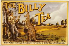 Billy Tea label