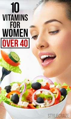 10 Most Important Vitamins For Women Over 40