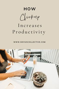 How ClickUp Increases Productivity - read how clickup is the one app to replace them all and is the best project management system | novus collective - online business manager | clickup features and tools | CRM | how to use ClickUp for daily productivity increase | project management tools for business owners | online business owners | tools for managing a remote team | productivity platform for online businesses | tools to work from home #accountability #remotework #projectmanagement…