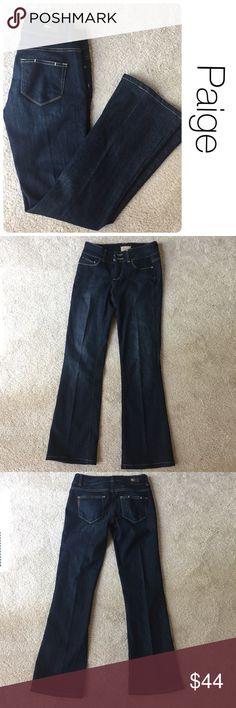 "Paige NWOT H.H. Bootcut dark wash jeans size 26 ♦️New without tag                                      ♦️Materials- 80 cotton/19 pollster/1 spandex.     ♦️Measurements:                               ♦️ 29"" inseam Paige Jeans Jeans Boot Cut"